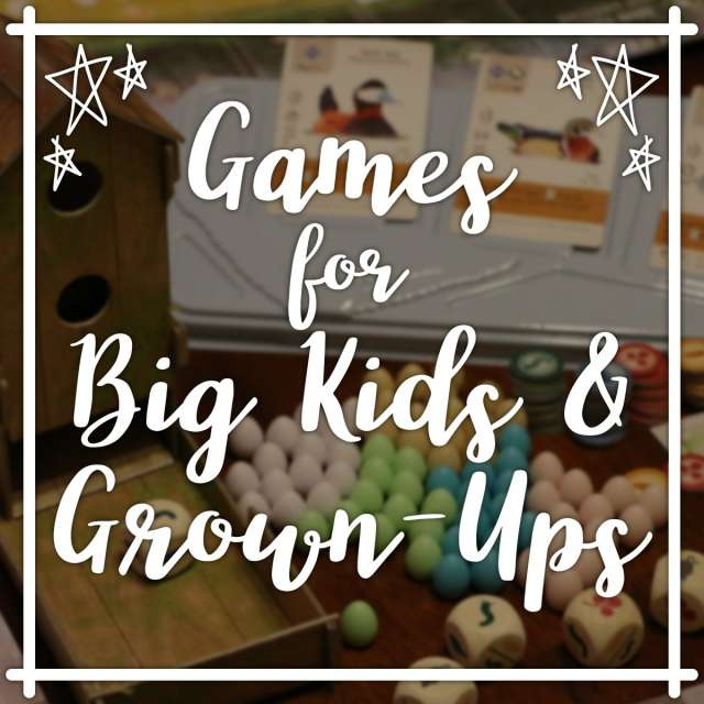 Games for Big Kids & Grown-Ups - Winter 2019