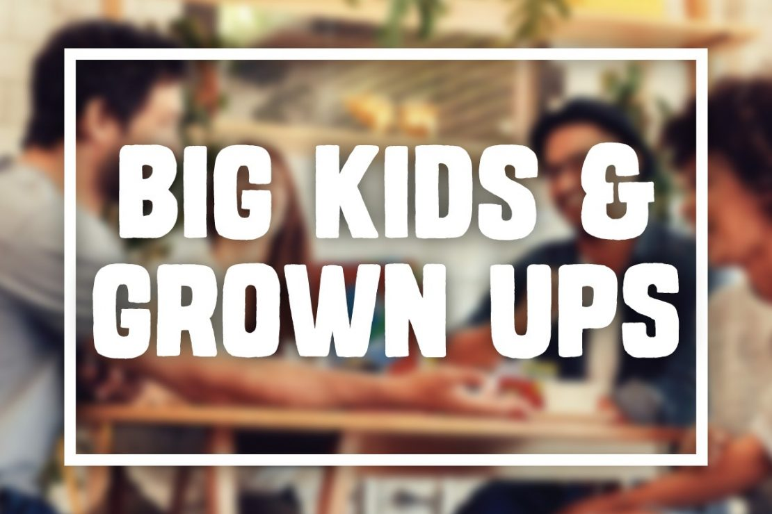 Games for Big Kids & Grown Ups