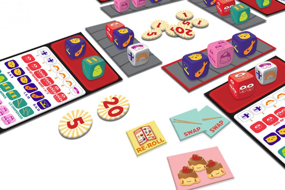 Sushi Roll Game from Gamewright