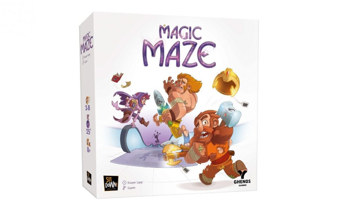 Magic Maze Cooperative Game