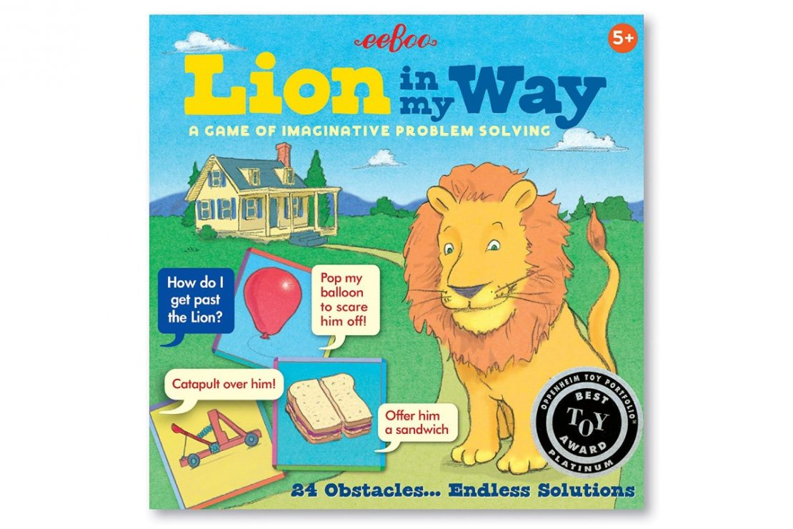 Lion In My Way Game from Eeboo
