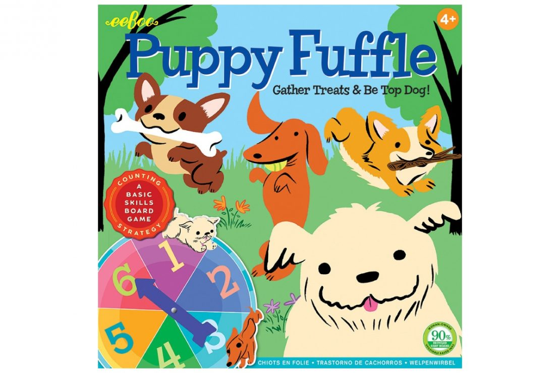Puppy Fuffle Game from Eeboo