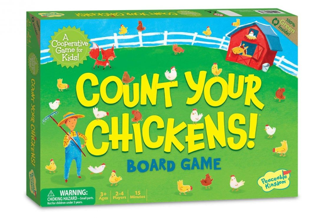 Count Your Chickens from Peaceable Kingdom
