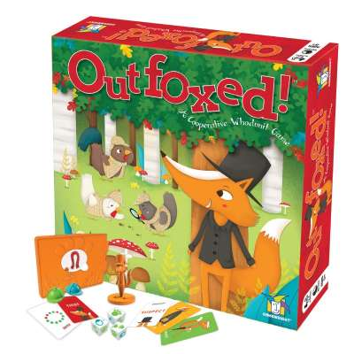 Outfoxed Cooperative Game from Gamewright