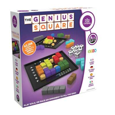 Genius Square Logic Game from Mukikim