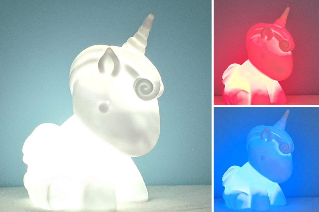 Giant Unicorn Mood Light from iScream
