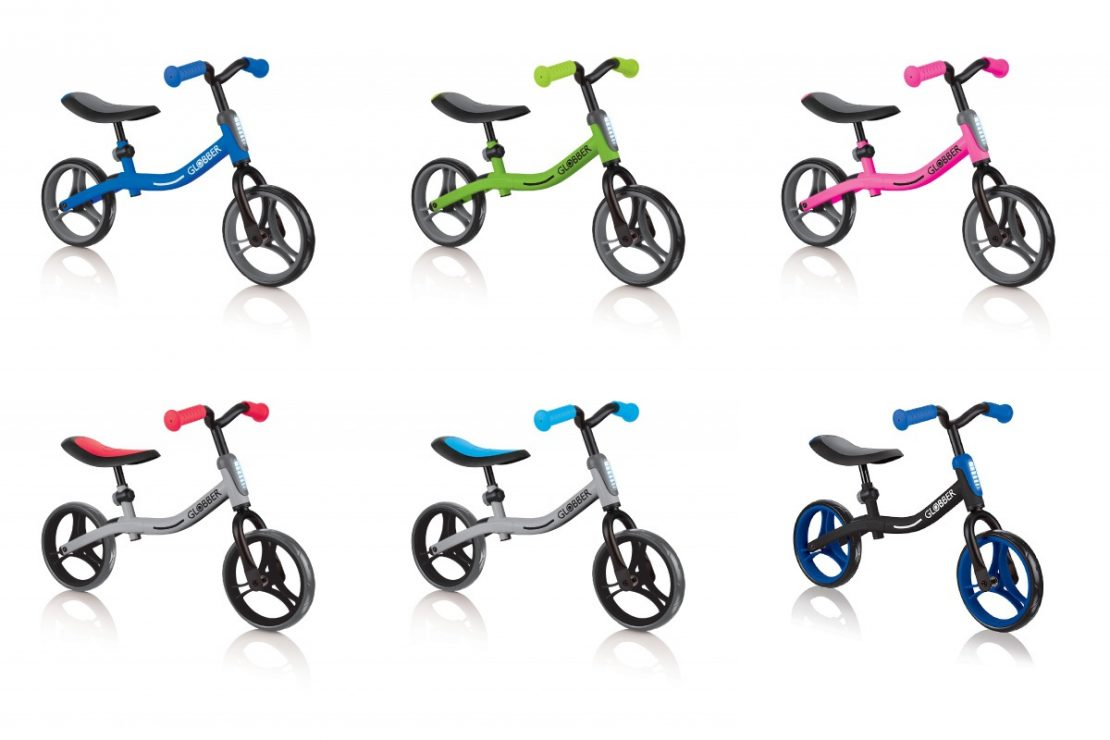 Globber Go Bike Balance Bike Colors