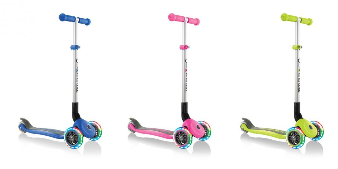Globber Primo Foldable Lights Scooters