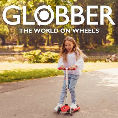 Globber  Scooters - The World on Wheels!