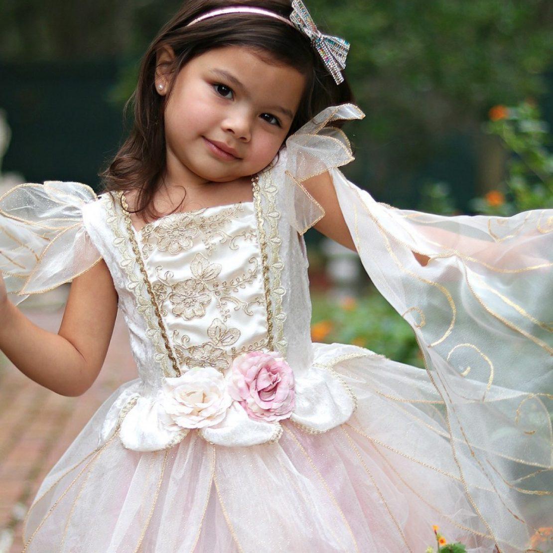 Great Pretenders Golden Rose Fairy Dress