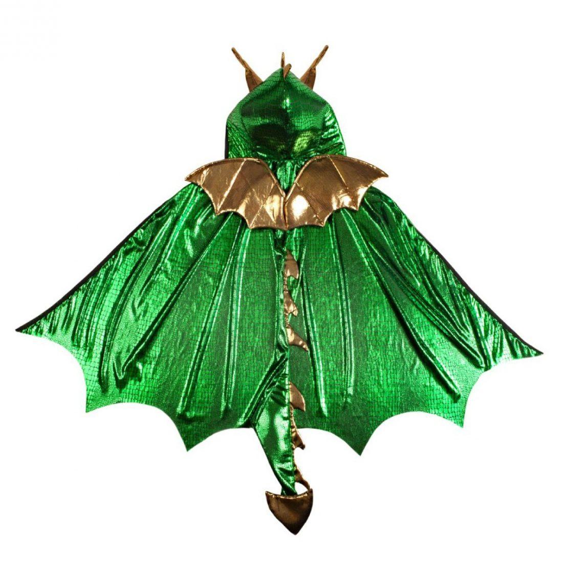 xGreat Pretenders Green Dragon Cape