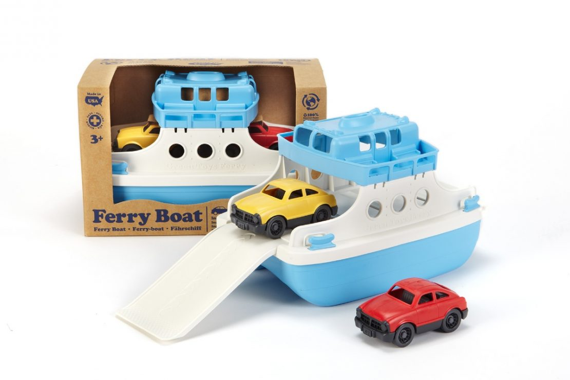 Green Toys Ferry Boat Set