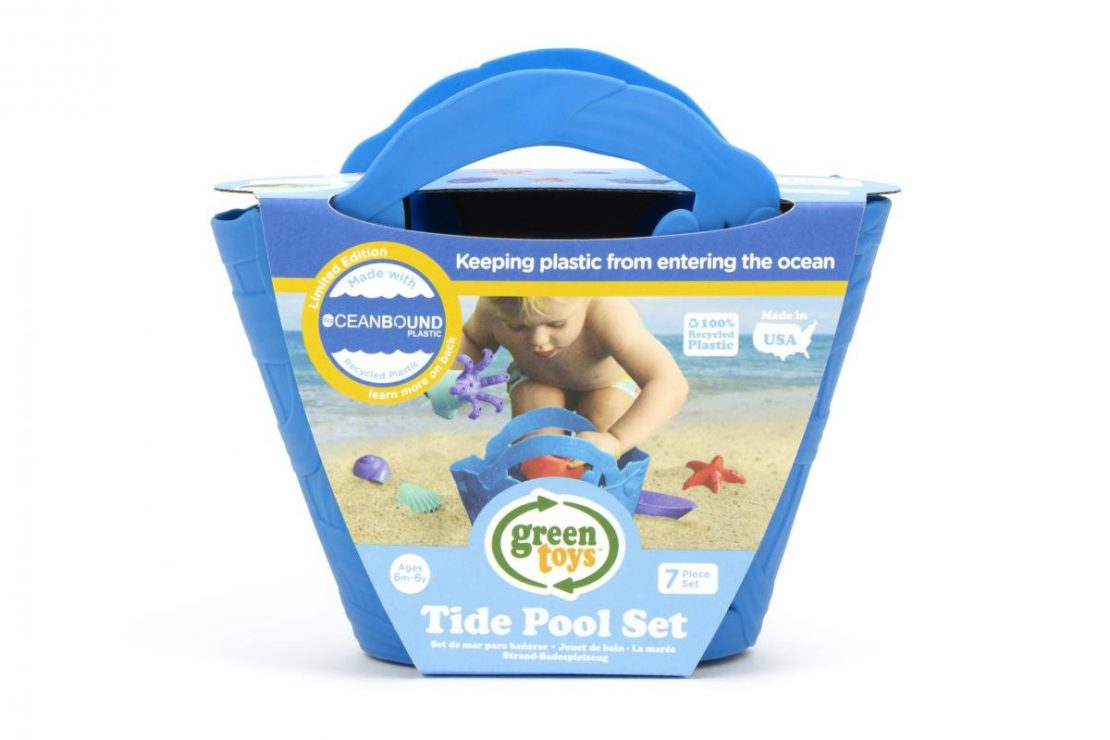 Green Toys OceanBound Plastic Tide Pool Set