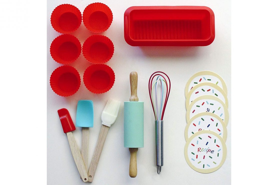 Handstand Kitchen Intro to Baking Set Contents