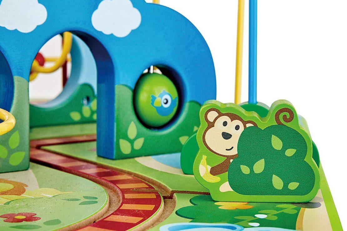 Hape Jungle Adventure Railway and Bead Maze