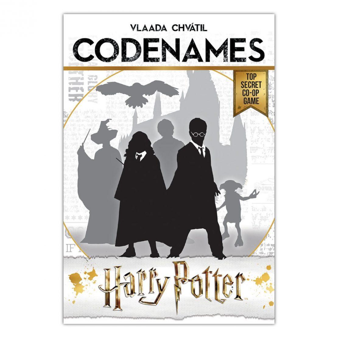 Harry Potter Codenames box