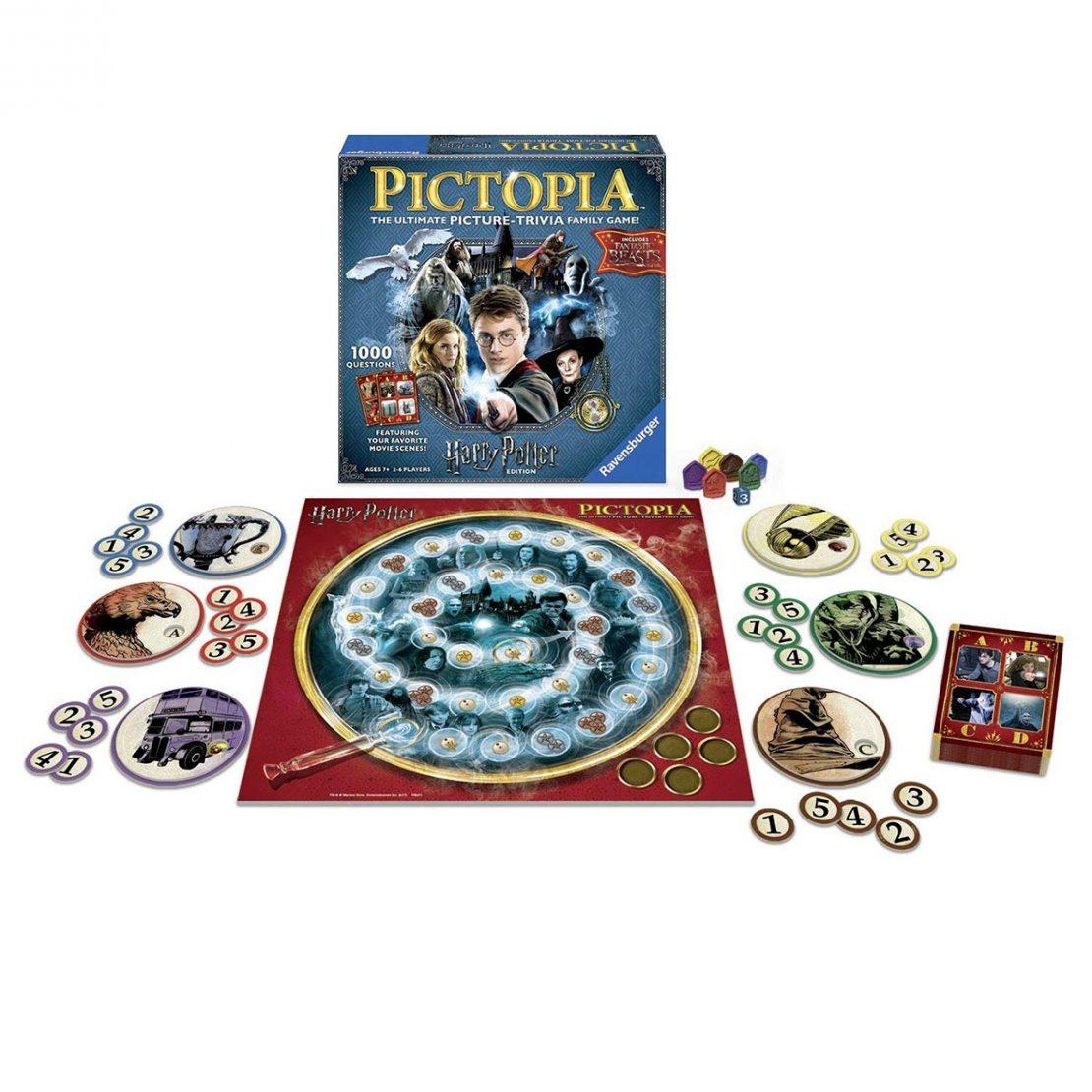 Harry Potter Pictopia Contents
