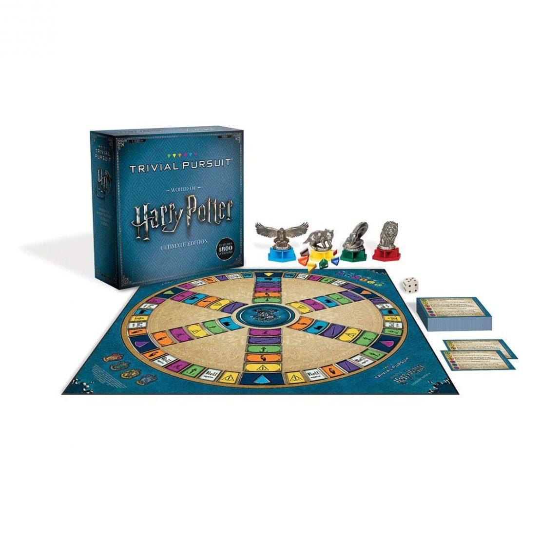 Harry Potter Trivial Pursuit Contents