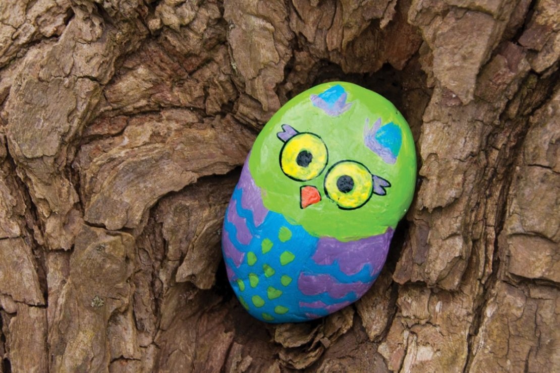 Hide & Seek Rock Painting Kit - from Creativity for Kids