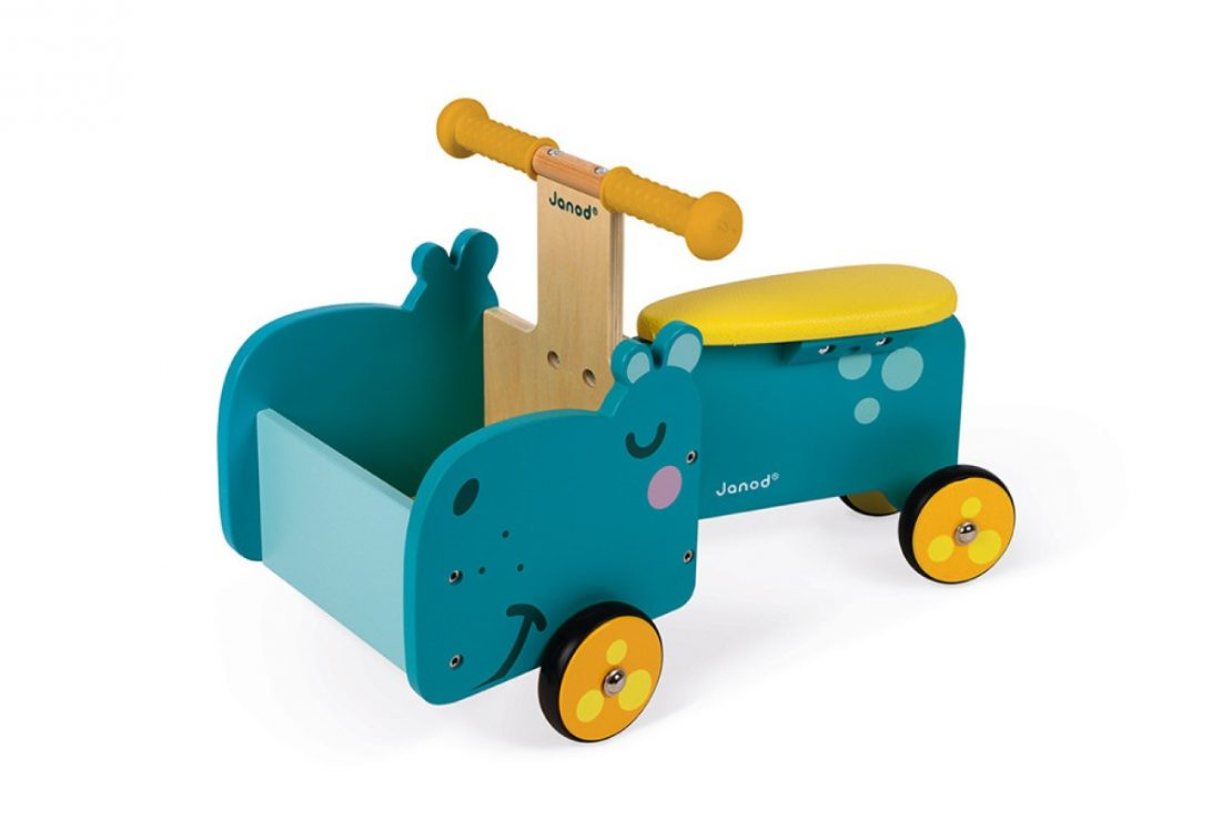Janod Hippopotamus Ride On