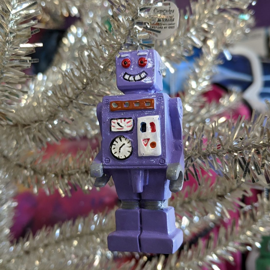 Little Robot Holiday Ornament