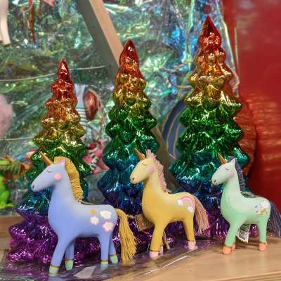 Unicorn Holiday Ornaments