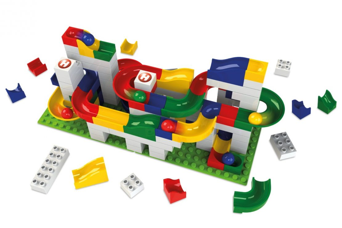 Hubelino Kugelbahn Basis Basic Set