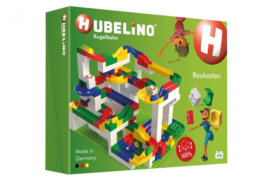 Hubelino Kugelbahn Baukasten Big Building Box