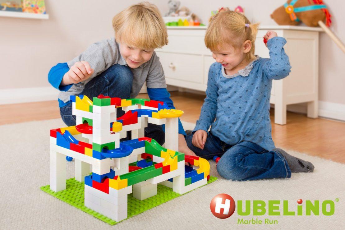 Hubelino Kugelbahn Marble Runs for Pre-K Kids