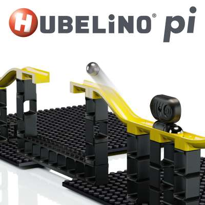 Hubelino Pi Marble Runs, Compatible with LEGO