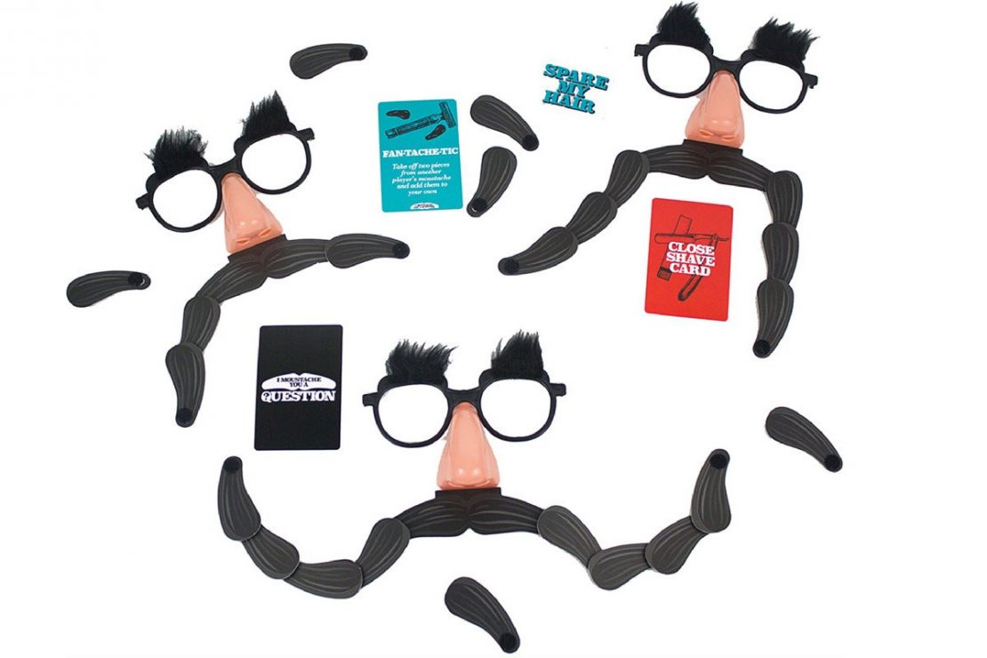 I Moustache You a Question from Looney Goose/Professor Puzzle