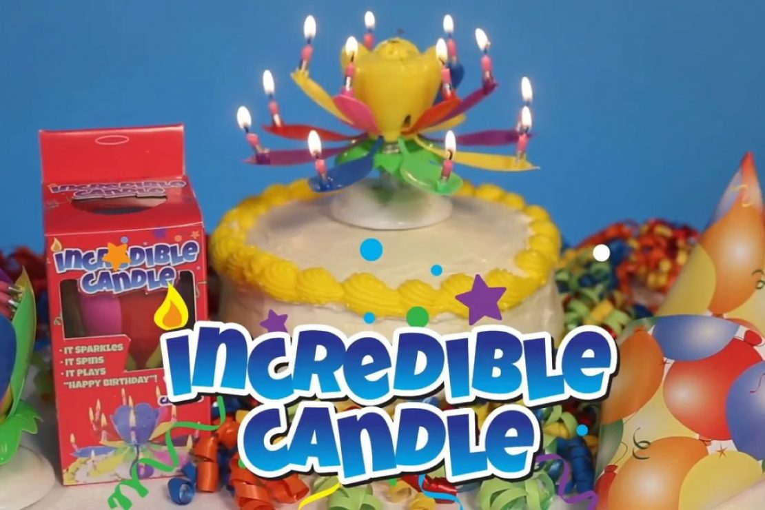 Just For Laughs Incredible Candle