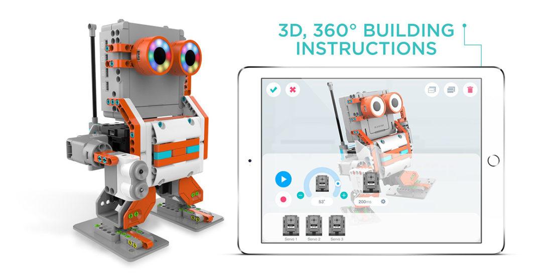 Jimu Astrobot App Building