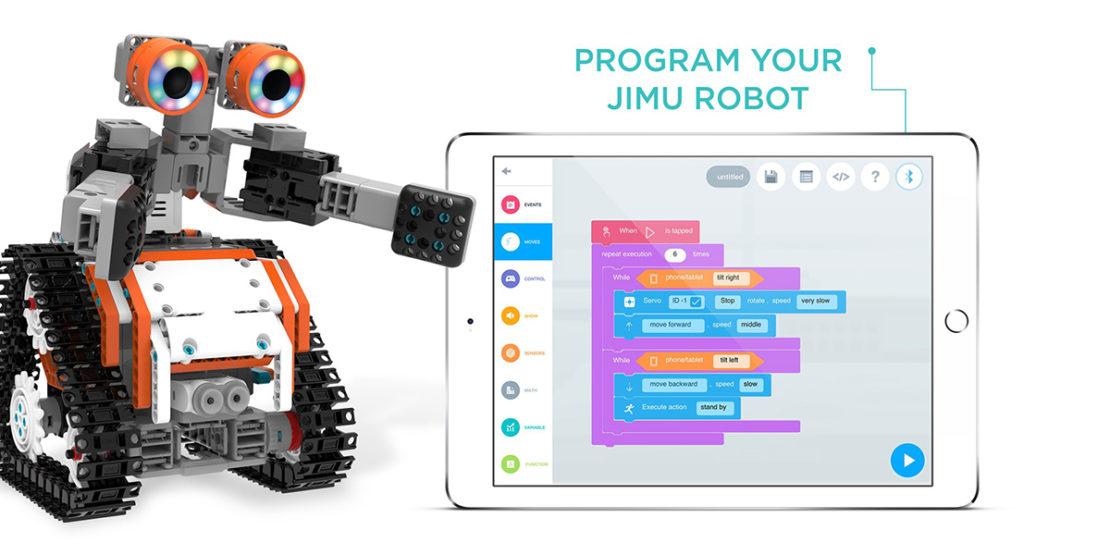 Jimu Astrobot App Programming