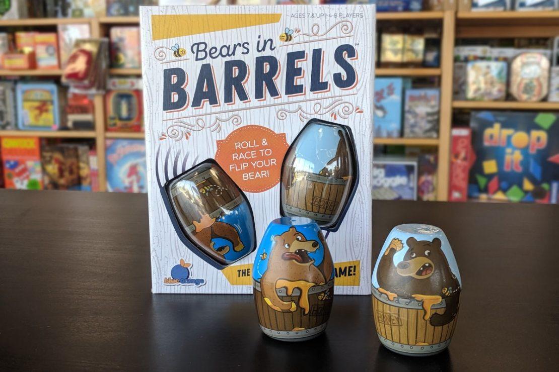 Bears in Barrels from Blue Orange Games