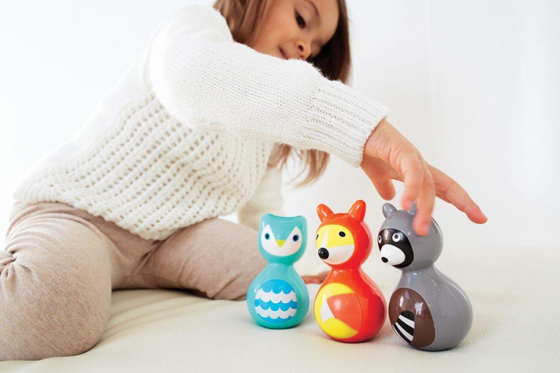 Kid-O Woodland Wobble Toys