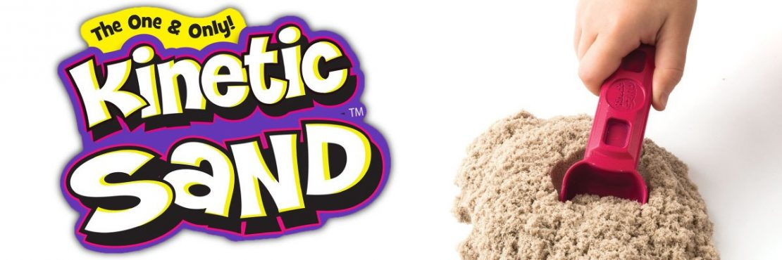 Kinetic Sand Sets from Spin Master