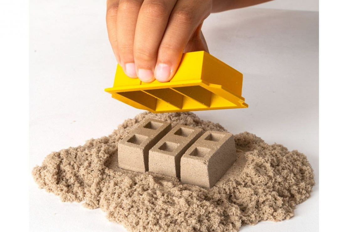 Kinetic Sand Dig & Demolish Truck Playset from Spin Master