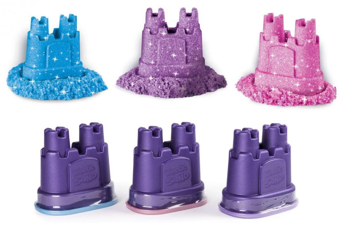 Kinetic Sand Shimmer 3 pack from Spin Master