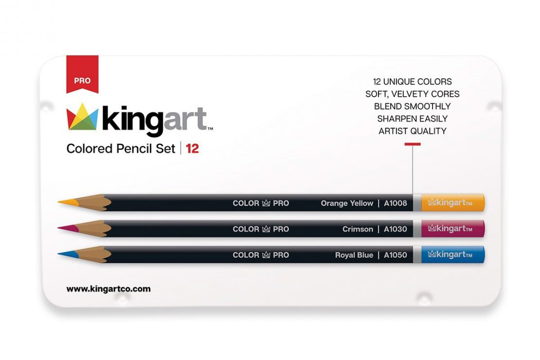 Kingart Colored Pencils