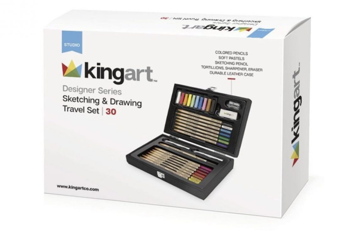 Kingart Sketch & Drawing Travel Set