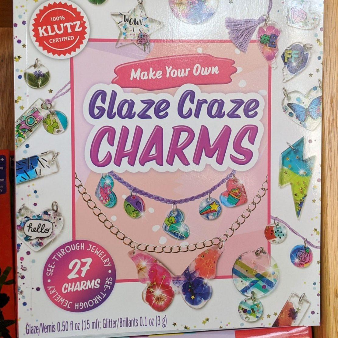 Glaze Craze Charms from Klutz