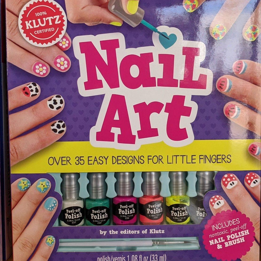 Nail Art Kit from Klutz