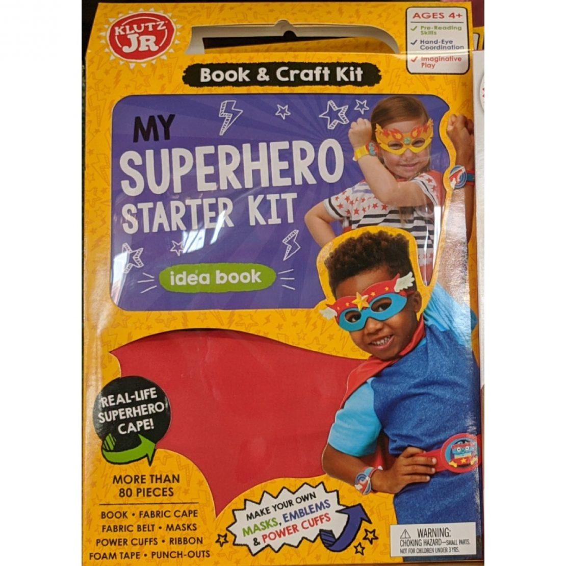 My Superhero Starter Kit from Klutz Jr
