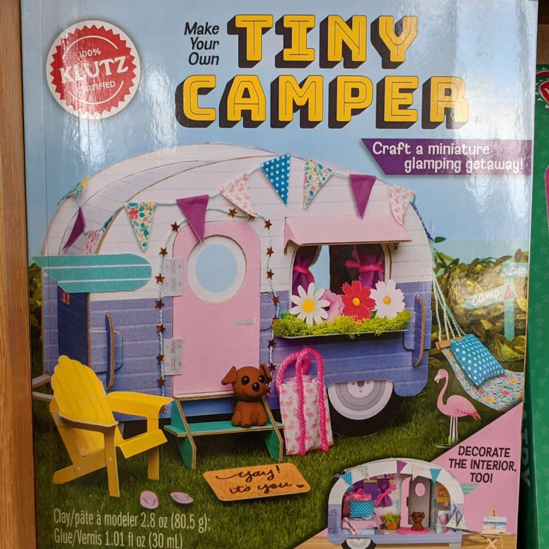 Tiny Camper from Klutz
