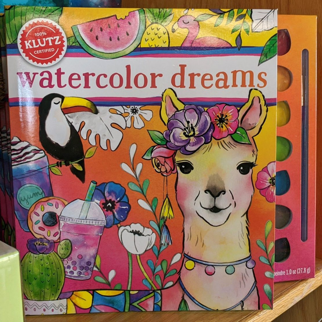 Watercolor Dreams from Klutz