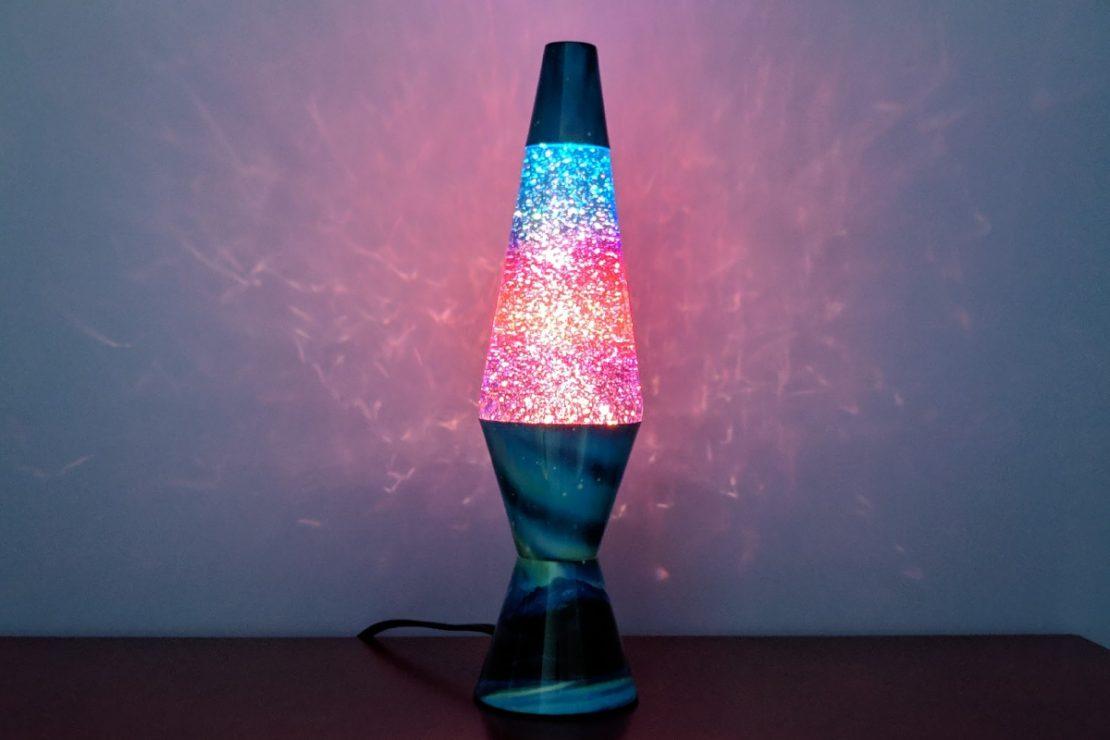Colormax Glitter LAVA Lamp