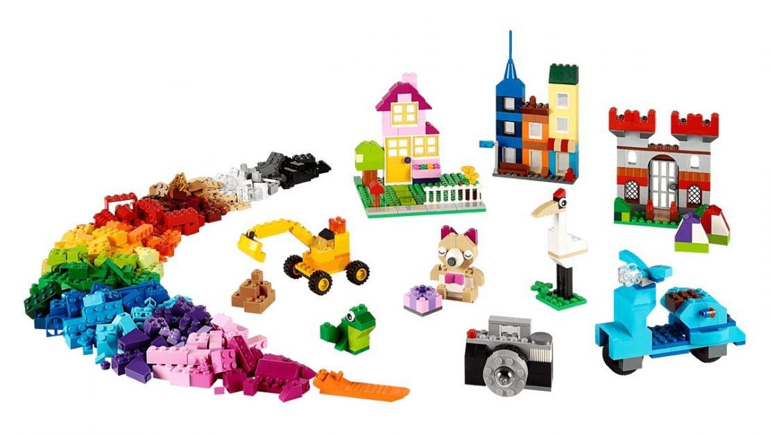 Lego Classic 10698 Builds