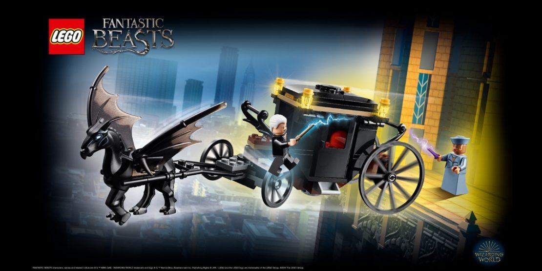 LEGO Harry Potter Fantastic Beasts Grindewald's Escape