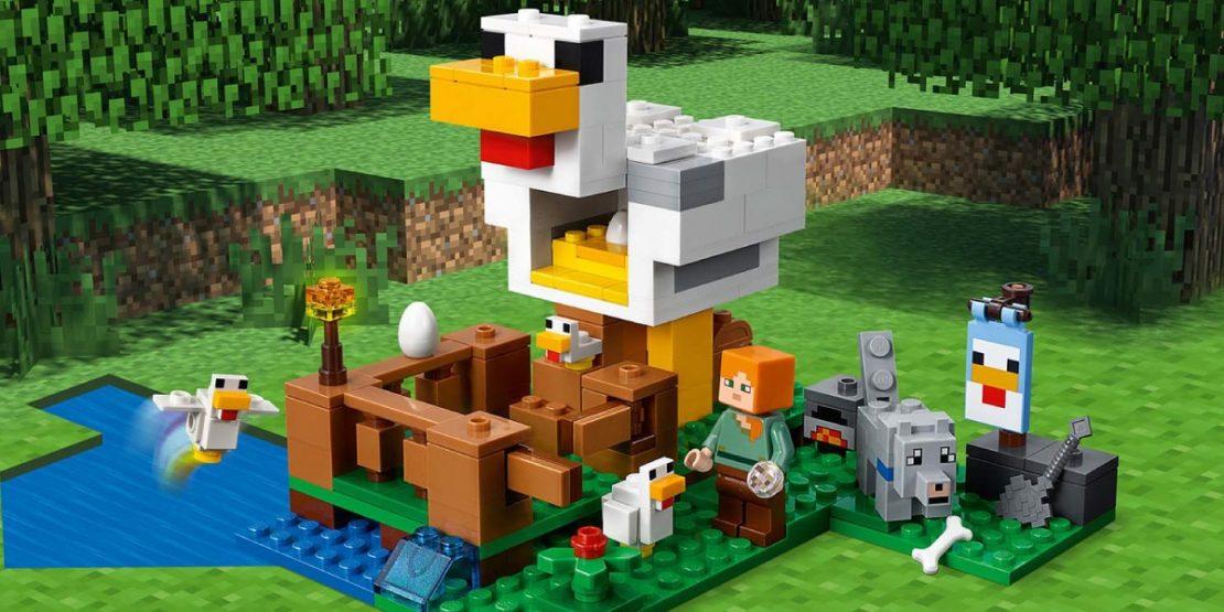 LEGO Minecraft Chicken Coop #21140